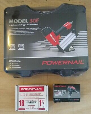 Powernail Model 50F Engineered Flooring Starter Pack with PowerPalm Nailer