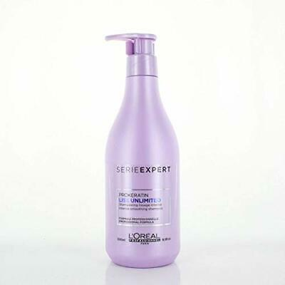 L'Oreal Professionnel Expert Serie - Liss Unlimited Smoothing Shampoo (For