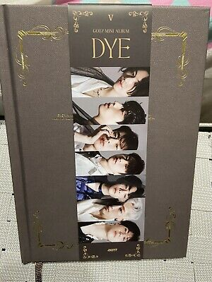 GOT7 DYE Mini Album (Photobook + CD) Only VER 5