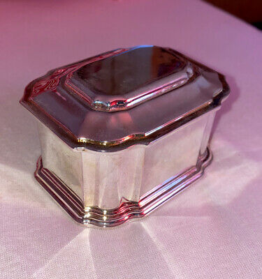silver plated pot