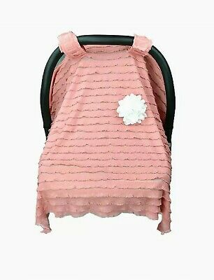 Car Seat Canopy Cover Baby Nursing Covers Scarf Breastfeeding Windproof Blanket