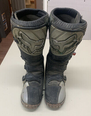 Mens Fox Motorcross Racing Boots, FormaPro, Used With Defects.EU 42