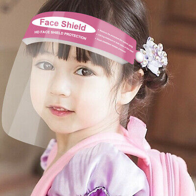Kindergarten School Boys Girls Protective Anti-Splash Safety Full Face Shield