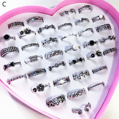 Cute Kids Creative Ladies Opening Vintage Jewelry Fashion Adjustable Ring gift