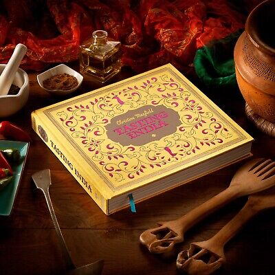Tasting India By Christine Manfield(2011) - Brand New & Sealed