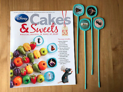 Disney Cake And Sweets Magazine Issue 53 With Ratatouille The Rat Skewers