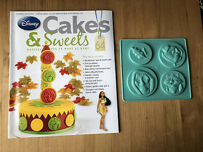 Disney Cake And Sweets Magazine Issue 64 With Pocahontas Mould