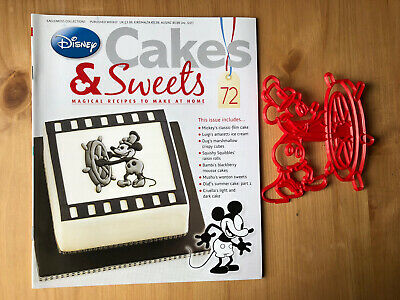 Disney Cake And Sweets Magazine Issue 72 With Mickey Mouse Cutter
