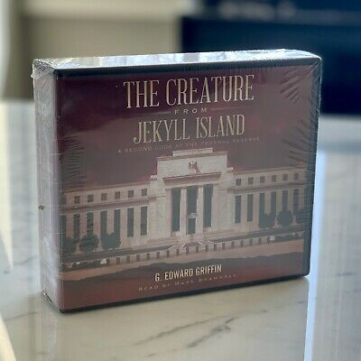 The Creature From Jekyll Island - Unabridged Audiobook (Audio Book) 20 CDs - NEW