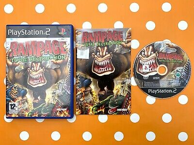 Rampage Total Destruction Ps2 Game Qyvg The Cheap Fast Free