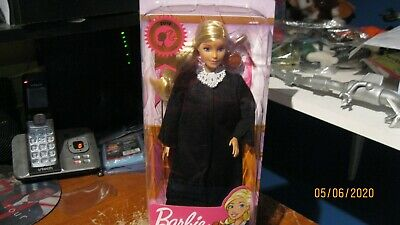 2019 Barbie Career of the Year JUDGE BARBIE DOLL Blonde  Mattel FXP42 BRAND NEW!