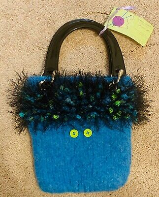 DS Knit Designs Girls Kids Knit Handbag Purse New With Tags