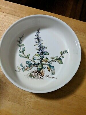 "Villeroy & Boch Botanica Ajuga Reptans 8 1/8"" All Purpose Serving Bowl"