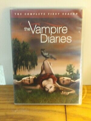 The Vampire Diaries: Complete First Season DVD ~ Pet Rescue Spay Neuter CHARITY