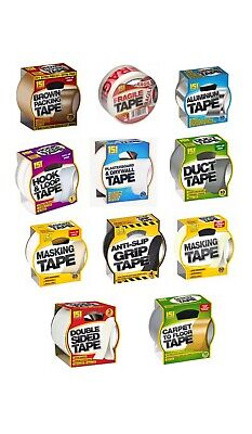 151 Premium Adhesive Tape | Packaging | DIY | Parcel | Double Sided | Velcrue
