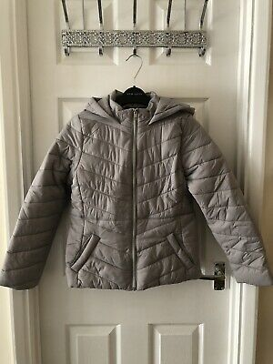 New New Look Girls Lilac Puffer Jacket Age 10-11