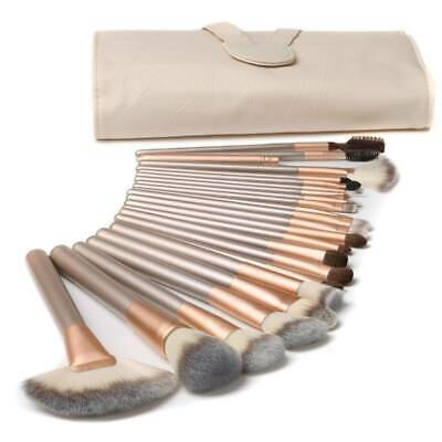 Professional Make up Brushes Set Cosmetic Tool Kabuki Makeup Kit+Luxury Bag hot