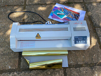 Patsy May A3 Foil It Hot foil machine Toner Foiling Laminator -With Extra Foils