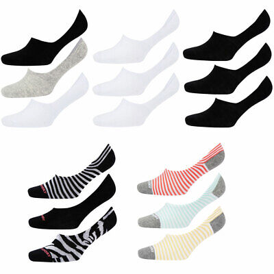 Tokyo Laundry Womens 3 Pack Assorted Liner Socks Trainer Ankle Footsie Invisible