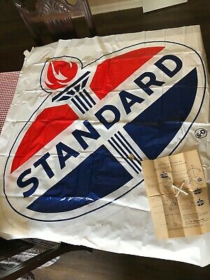 Standard Oil promotional Kite double sided 1960s