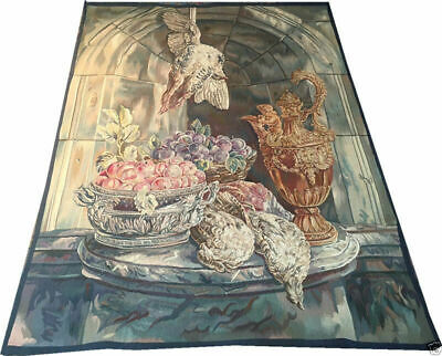 A Must See Interesting Antique French Tapestry $1400.00 Price Reduction