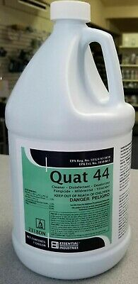 Quat 44 Surface Cleaner Disinfectant Fungicide Virucide YOU NEED THIS NOW!