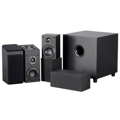 """5.1.2 Channel Immersive Sound Home Theater System w/ 8"""" Active Powered Subwoofer"""