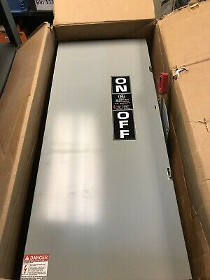 GE THN3364 200AMP 600V Safety Switch New in box
