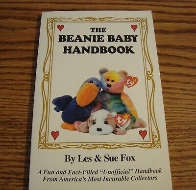 The Beanie Baby Handbook Paperback by Les & Sue Fox (First Edition - 1997)