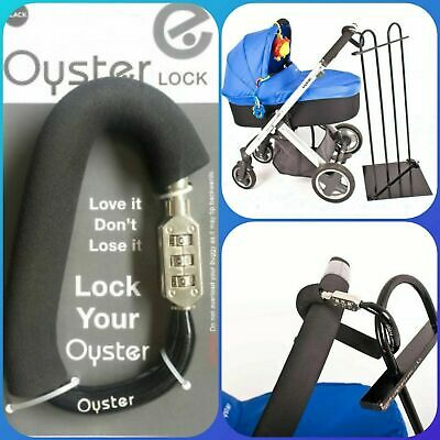 Babystyle Oyster Lock, Buggy Stroller, Lock your buggy, Lock you Bags.