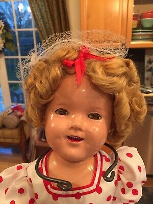 "Vtg 1930 Shirley Temple Composition 20 "" Doll - Ideal Toy Co."