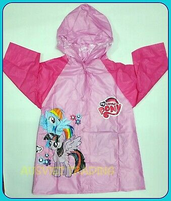 Brand new My Little Pony Raincoat new release girls kids rain coat