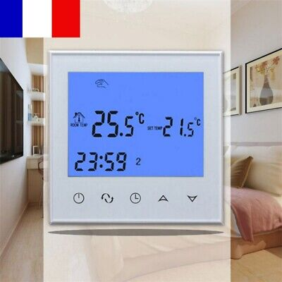 WIFI Programmable Thermostat LCD tactile Sans Fil Floor Heating App Contrôleur