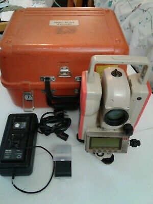 Pentax PCS-325 Total Station with case, charger and brand new battery