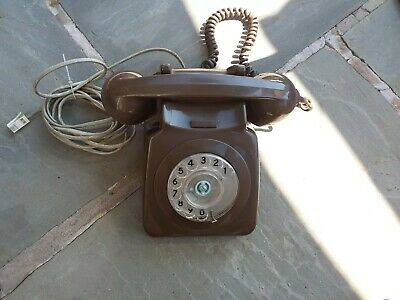 G P O Brown dial telephone 8746