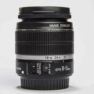 Canon EF-S 18-55 mm F/3.5-5.6 IS Objektiv- 1 A