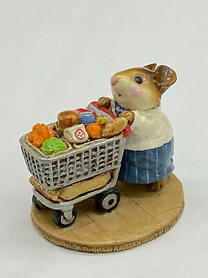 Wee Forest Folk WFF M-150 Market Mouse (Later)