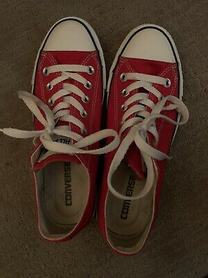 Converse All-Star Low Red - Mens Size 6- Great Condition