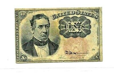 "10 Cent ""Fractional Currency"" (William Merideth) 1800'S (10 Cent) Crispy Note!!!"