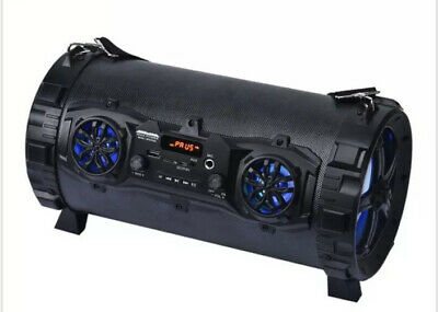 "Max Power Multi-function Portable Bluetooth 5.5"" Bazooka Speaker"