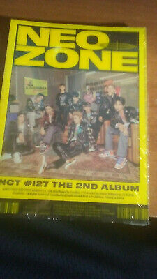 "[Nct #127 Neo Zone] 2Nd Album ""N"" Version K-Pop Sealed New Album Poster On Pack"