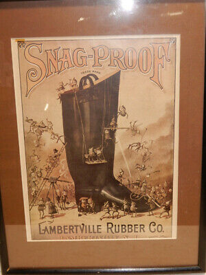 The Brownies Palmer Cox Lambertville Rubber Co Nj Advertising