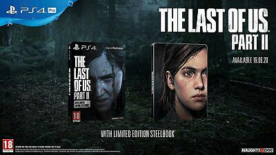 The Last Of Us Part 2 II - Edition Steelbook Special Limitée Collector SANS JEU