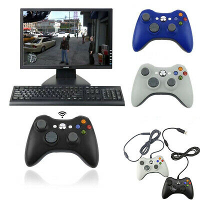 Wired / Wireless Game Controller Gamepad For Microsoft XBOX 360 Console Joypad