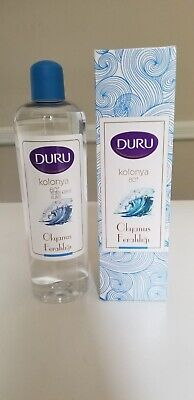 Duru Turkish Ocean Refreshment Cologne 400ml 80-Proof Alcohol Content Kolonya