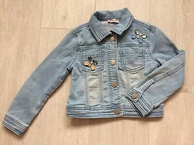 Monnalisa Girls Designer denim jacket Age 4