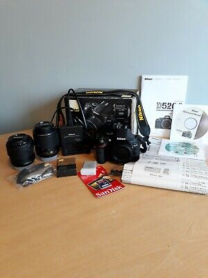Nikon D5200 Superb Condition...many Extras/Accessories