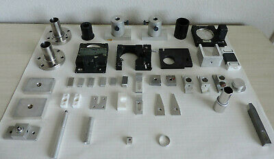 Laser Opto-electronic components parts lot physics lab supplies physical maser