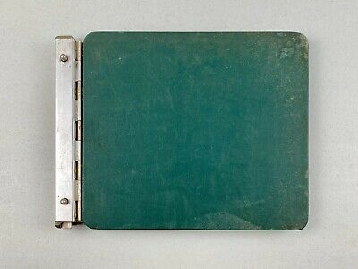 Vintage 1950's McMillan LEDGER Office Accounting Leather Hard Cover A8406G ~USA