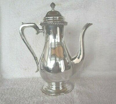 Vintage Silver Plated  Coffee Pot Made In England